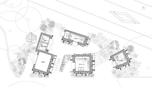 鍋島松濤公園トイレの平面図(資料:大和ハウス工業)