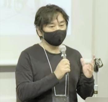 建築家の平田晃久氏(写真:パビリオン・トウキョウ2021)