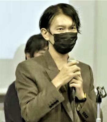 建築家の石上純也氏(写真:パビリオン・トウキョウ2021)