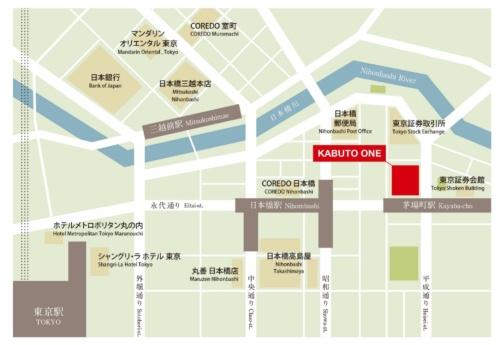 東京メトロ茅場町駅に直結する立地(資料:平和不動産、山種不動産、ちばぎん証券)