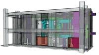 3Dモデルによる機戒室の検討