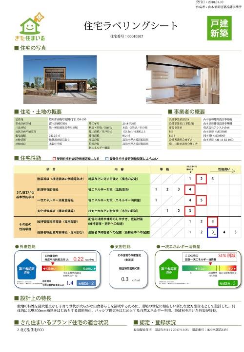 住宅ラベリングシート(資料:北海道)