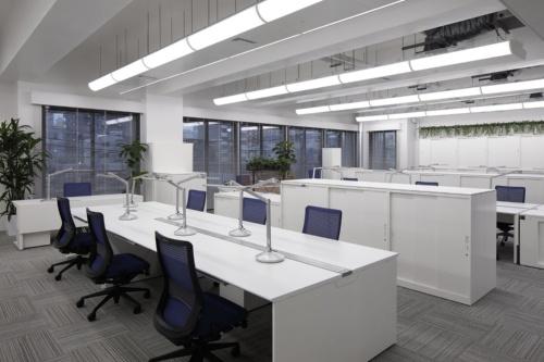 ダイダン四国支社「エネフィス四国」の2階事務室(写真:ダイダン)