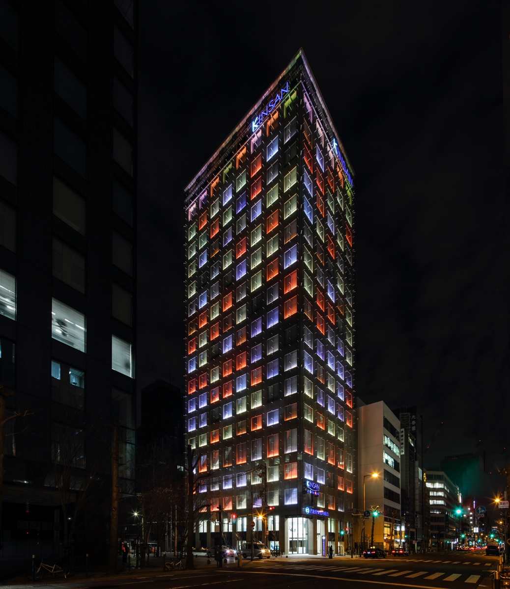 ライトアップの一例(写真:近畿産業信用組合)
