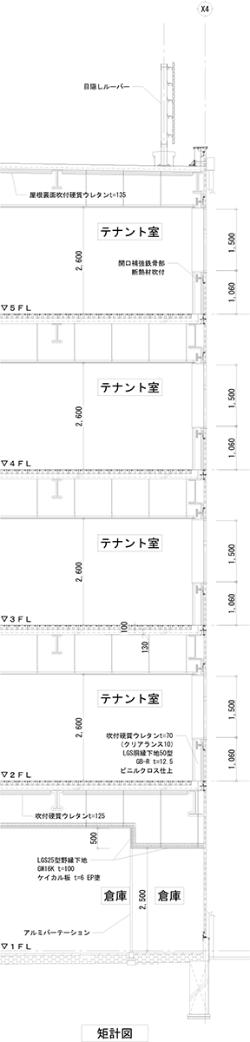 矩計図(資料:久慈設計)