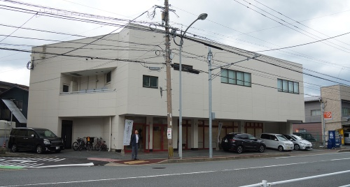 ZEBに改修したエコワークス新本社(福岡市)の外観(写真:守山 久子)