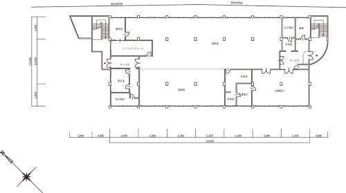 1階平面図(資料:久留米市)