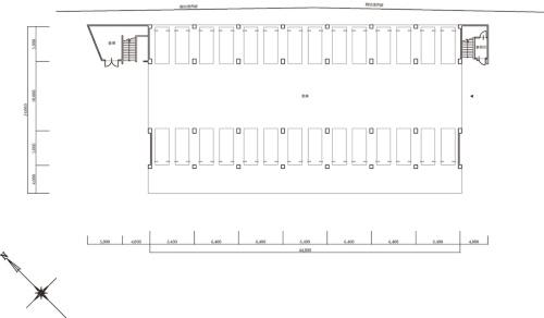 2階平面図(資料:久留米市)