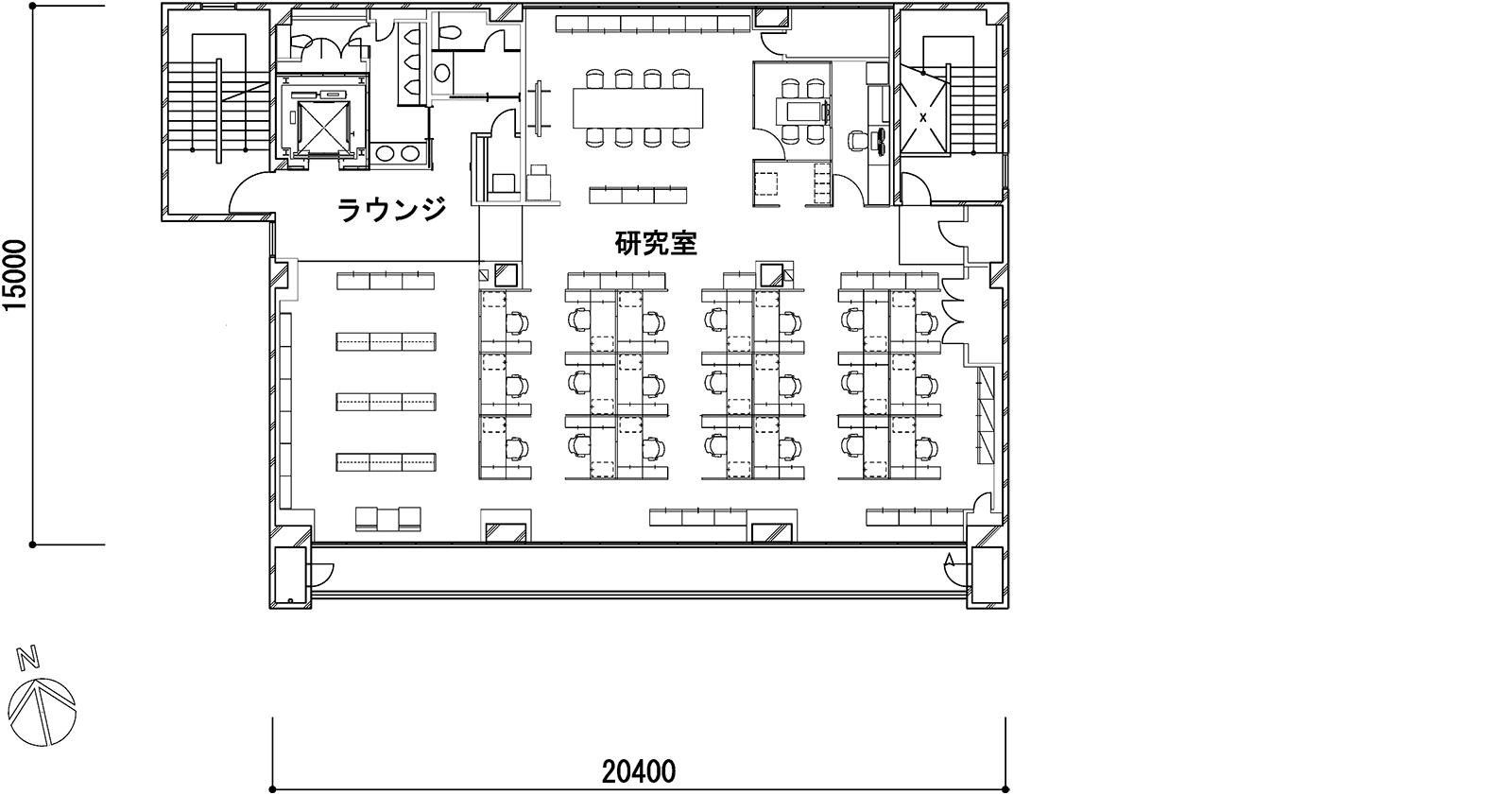 4階(資料:奥村組)
