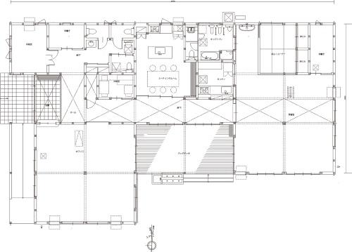 1階平面図(資料:エコワークス)