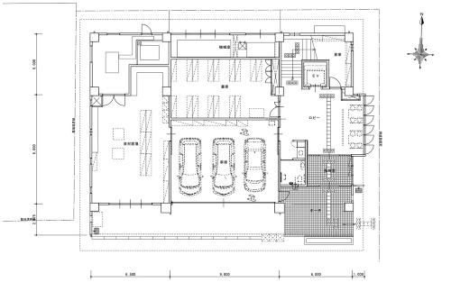 1階平面図(資料:福島県県中建設事務所)
