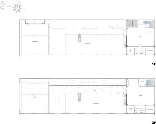 各階平面図(資料:渡辺パイプ)