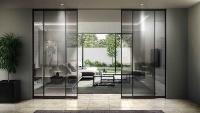 「famitto ガラスデザイン」全採光型の施工例(資料:YKK AP)