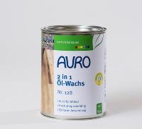 「Nr.128 ツーインワンオイルワックス」には、0.75リットル缶と2.5リットル缶の2種類がある(資料:アウロジャパン)