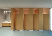 トイレブースの施工イメージ(資料:アイカ工業)