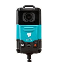「Safie Pocket」のカメラ本体(資料:セーフィー)