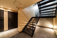 「ObjeA PREMIUM」を集合住宅の共用部分に設置した例(資料:カツデンアーキテック)