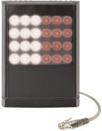 赤外光と白色光の照明を1つのユニットに統合した「Vario2 ハイブリッドシリーズ」(資料:オプテックス)