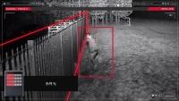 赤外光を照射して白黒画像の視認性を上げる(資料:オプテックス)