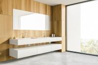 洗面所の施工イメージ(資料:カネカフォームプラスチックス)