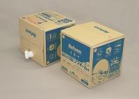 1箱の内容量は19リットルで、施工面積は30〜60m<sup>2</sup>分(資料:日本ボレイト)