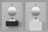 左が「フロートタイプ」、右が「引き出しタイプ」(資料:サンワカンパニー)