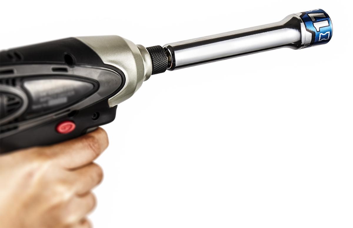 6.35mmのインパクトドライバーに使用できる(資料:京都機械工具)