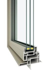 耐熱強化トリプルガラスと高断熱樹脂フレームを組み合わせる(資料:YKK AP)