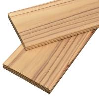 国産スギの準不燃木材(資料:越井木材工業)