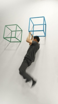 壁に取り付けてトレーニングに使う(資料:カツデンアーキテック)