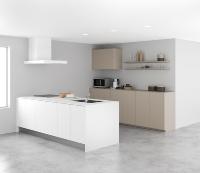 キッチンへの設置例(資料:サンワカンパニー)