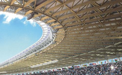 図1 新国立競技場のイメージ