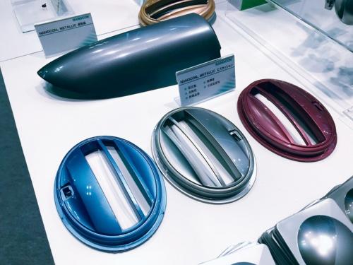 図3 塗装レスの樹脂製自動車部品