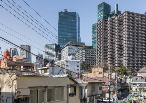 市街地再開発事業の対象となる「虎ノ門・麻布台地区」一帯(撮影:大山 顕)