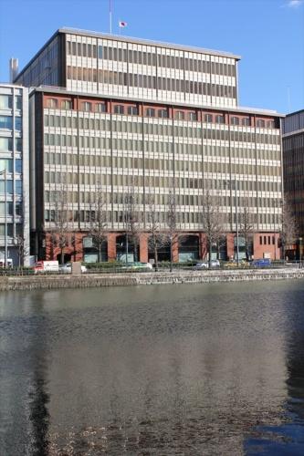 建て替え前の旧東京會舘ビル。1971年に竣工。2015年1月31日に営業を終了し、同年2月から解体工事に入った(写真:日経アーキテクチュア)