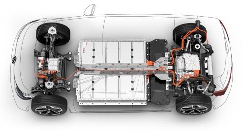 図4 VWのEV専用プラットフォーム「MEB」
