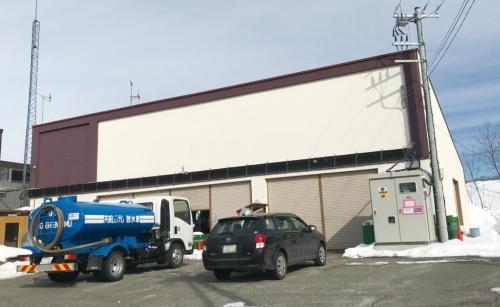 スーパーマーケットだった建屋を改修したインターステラテクノロジズのオフィス兼工場。(写真:吉田サトル)