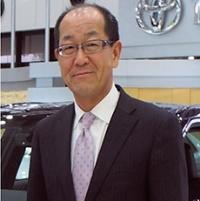 トヨタ自動車の田中氏