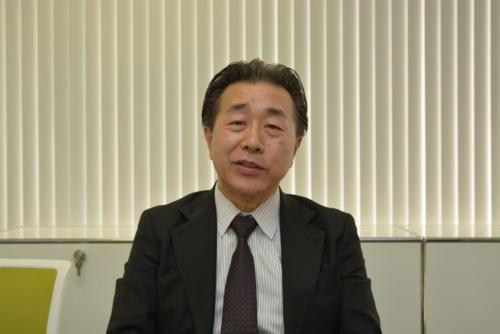 ヴァレオジャパンのアジアリージョンサーマルシステム開発部開発部門長の能瀬敏光氏