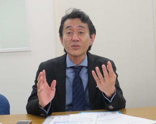 コンテンツ海外流通促進機構(CODA)の後藤健郎代表理事