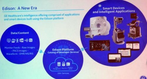 AIを活用した製品やサービスの総合的なブランド「Edison」(撮影:日経 xTECH)