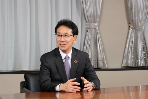 コマツ代表取締役社長(兼)CEO 小川啓之