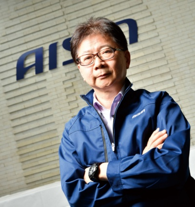 アイシン CDO(Chief Digital Officer)の鈴木研司氏