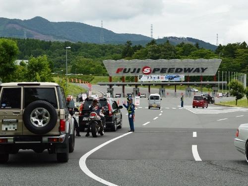 2018年7月7~8日に富士スピードウェイで開催されたSUPER FORMULAの第4戦の会場の様子。2日間で延べ3万1400人が訪れた