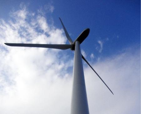 日立製作所製の大型風力発電設備