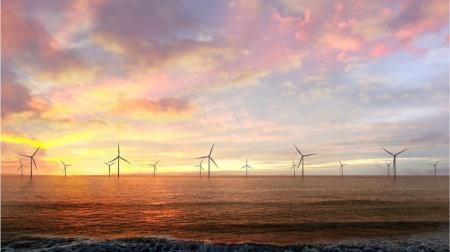秋田県北部洋上風力発電事業のイメージ