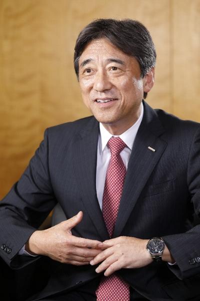 吉沢社長はデータ資源の充実度が競争力を左右すると強調する
