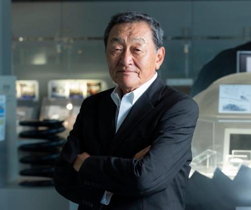 日翔会会長、ニッパツ名誉会長の玉村和己氏