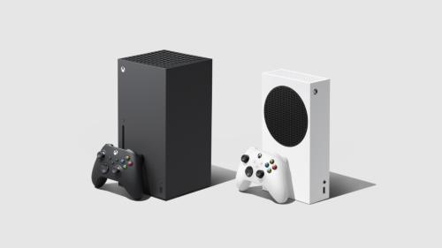 Microsoftの次世代ゲーム機「Xbox Series X」(左)と「Xbox Series S」
