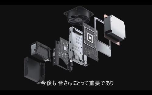 Xbox Series Xの内部構造